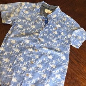 Boys palm tree button down 🏝
